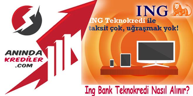 Ing Bank Teknokredi