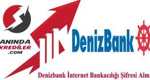 Denizbank İnternet Bankacılığı Şifresi Alma