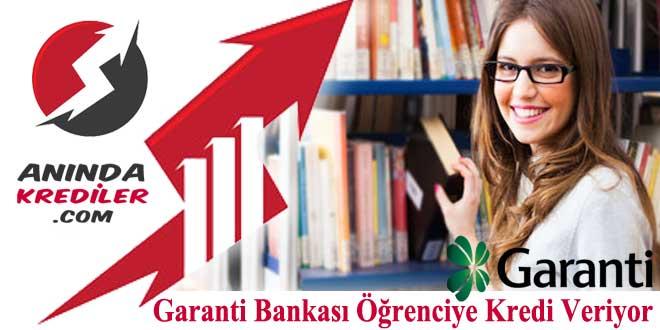 Garanti Bankası Öğrenciye Kredi Kampanyası