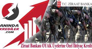 Ziraat Bankası Askeri Personele Kredi