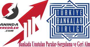 Unutulan Banka Hesabı Sorgulama 2019 listeler