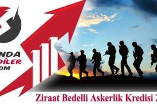 Ziraat Bedelli Kredisi 2019